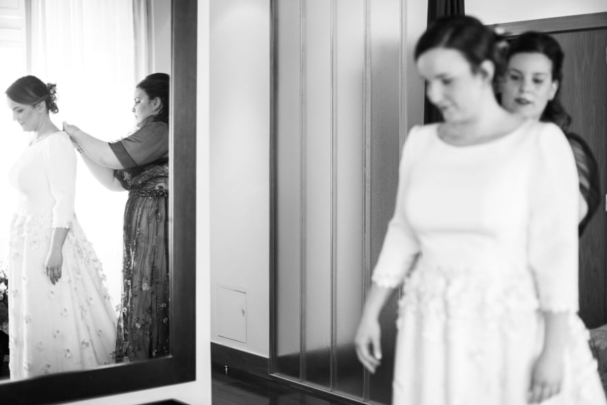 vestido de novia del Atelier Piedad Garcia Peña de Madrid