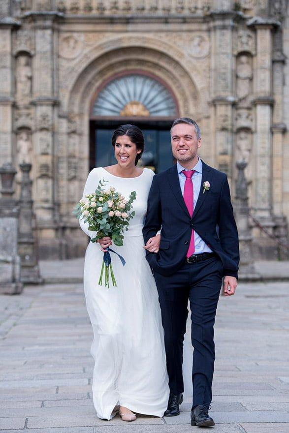 vestido de novia de Sophie et Voilà del atelier de Madrid