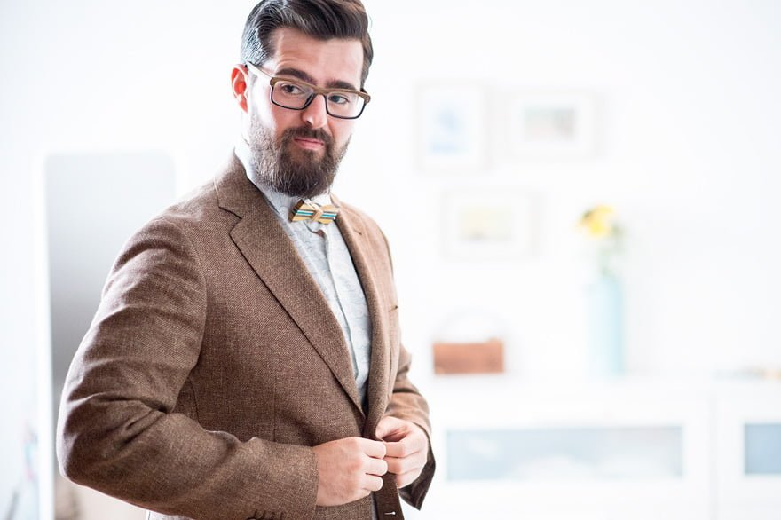 americana Emidio Tucci y camisa de Brava Fabrics