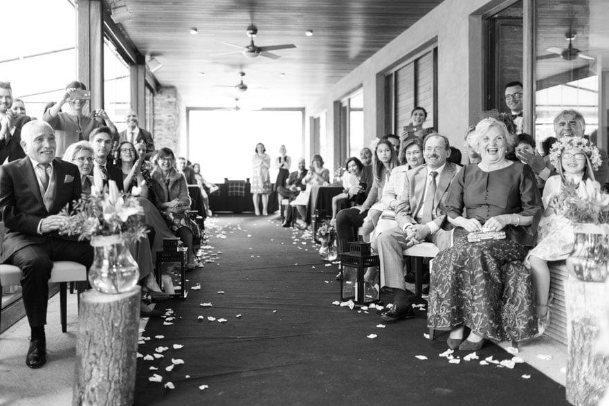 Ceremonia Civil de una boda en el Hotel rural y restaurante De Floriana de Molinaseca