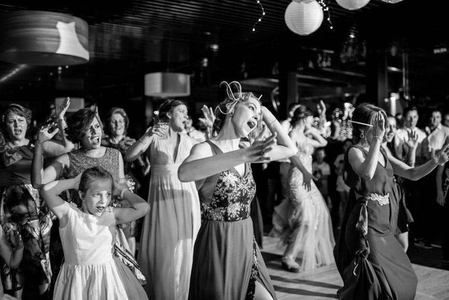Baile durante una boda en el Pazo El Castriña con música de Máster Discotecas Móviles