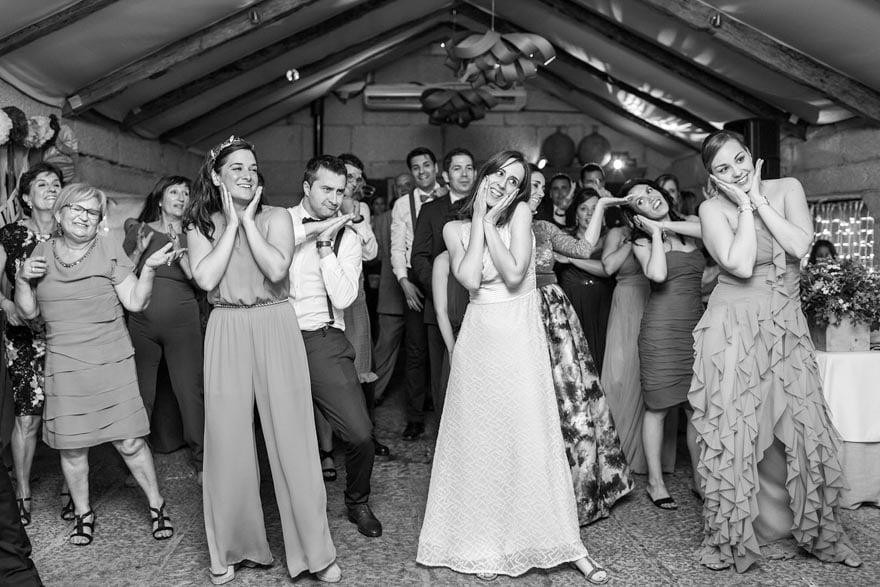La música durante la fiesta de la boda en la Rectoral de Cobres fue responsabilidad de Tocata DJ's