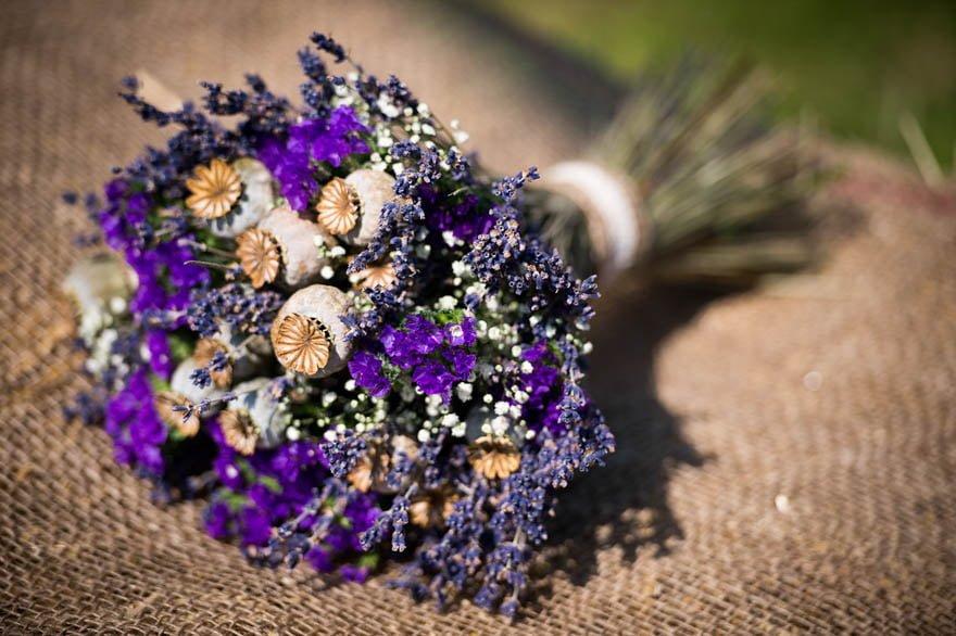 Ramo de novia de la floristería Xunco de Cuntis