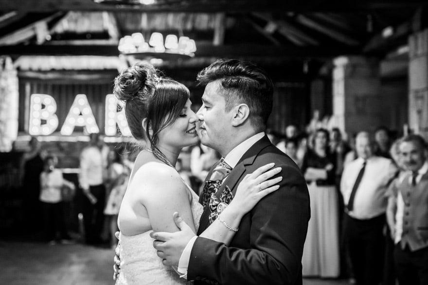 baile de novios dutante su boda en el Pazo Casa Grande de