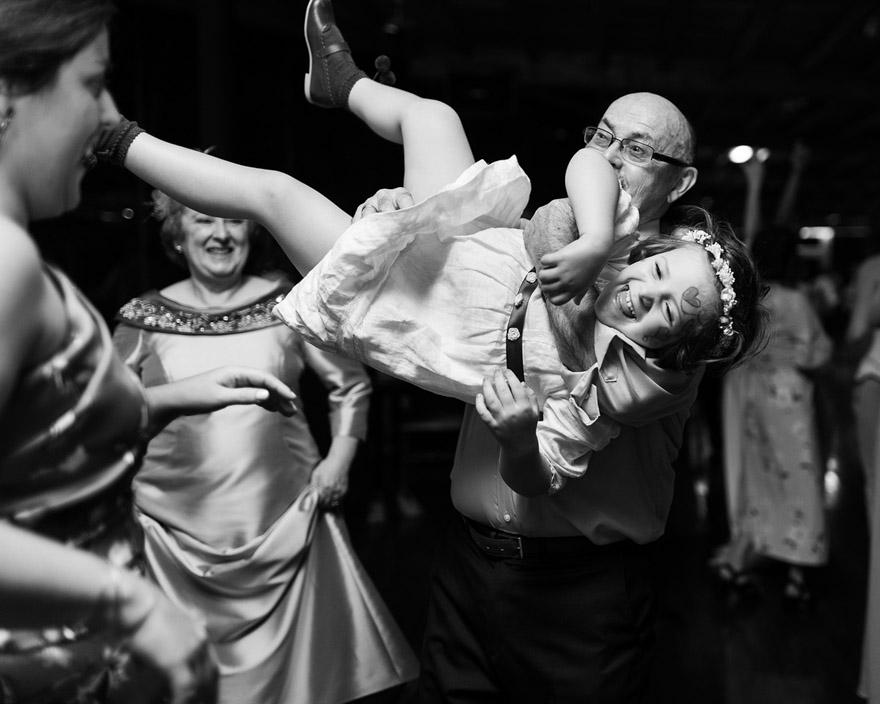 Baile en el Pazo de Vilaboa durante una boda